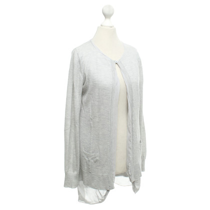 Allude Cardigan in light gray