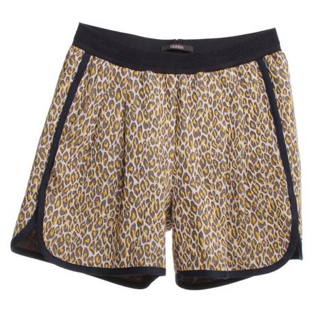 Odeeh Shorts im Animal-Design Bunt / Muster