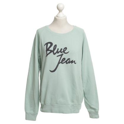 Closed Mintgrüner Sweater im Used-Look