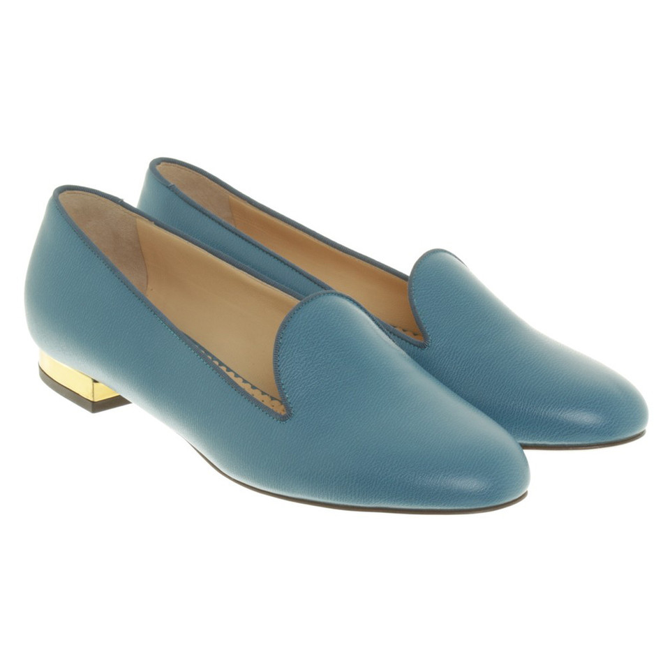 charlotte olympia loafer in blau second hand charlotte olympia loafer in blau gebraucht kaufen. Black Bedroom Furniture Sets. Home Design Ideas