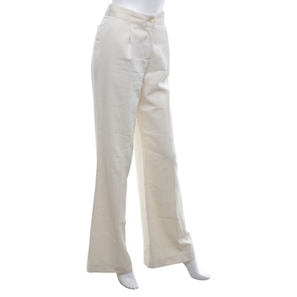Malo trousers in cream white