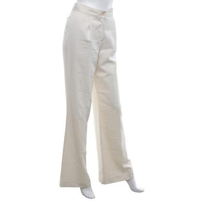 Malo Pantaloni in bianco crema