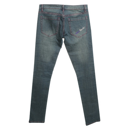 Emanuel Ungaro Jeans con cuciture decorative