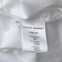 Steffen Schraut Chemisier en blanc