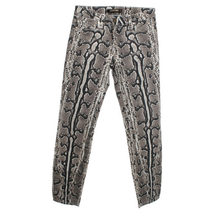 Roberto Cavalli Hose mit Animal-Design