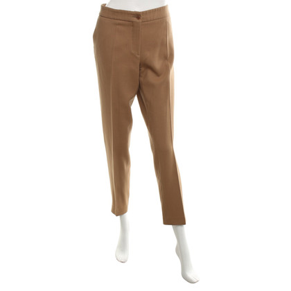 Etro Creased trousers in brown