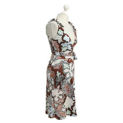 Diane von Furstenberg Seidenkleid in Multicolor