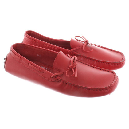 Tod's Pantofola in Red