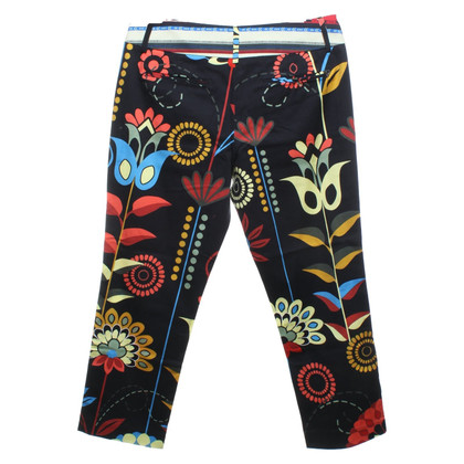 Dondup trousers with print motif