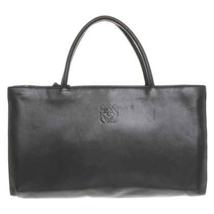Loewe Leather handbag in black