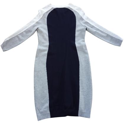 Karen Millen blauw wit grijze jurk