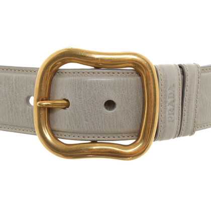 Prada Belt in gray