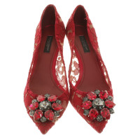 Dolce & Gabbana pumps in red