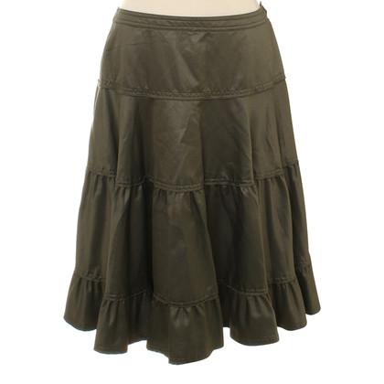 Marc Cain Tiered skirt with flounces