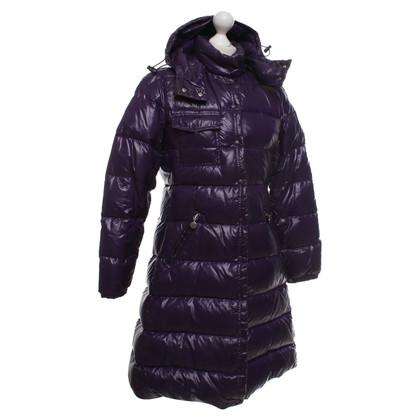 Moncler Down coat in purple