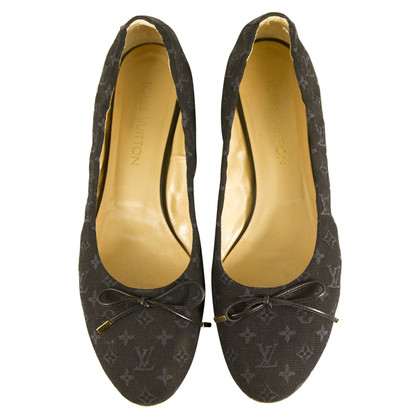 Louis Vuitton Ballerinas mit Monogram-Muster