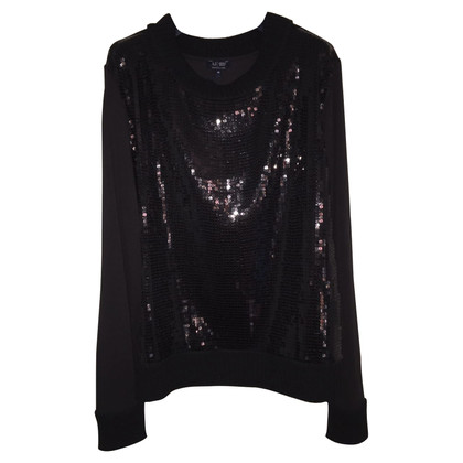 Armani Jeans Sweater with sequin trim