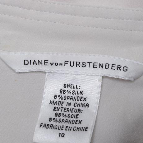 Beige Diane Furstenberg Diane Beige Furstenberg Beige Bluse Diane in von Beige in von Bluse SAqAd