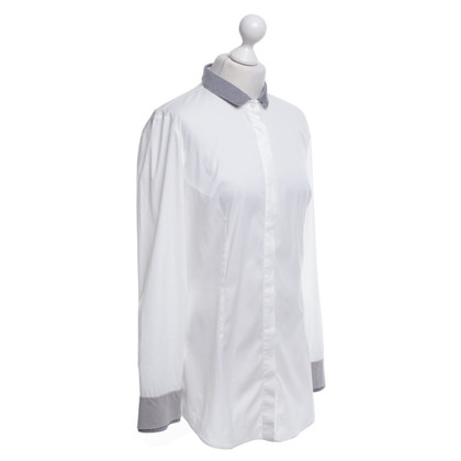 Brunello Cucinelli Camicia in bianco
