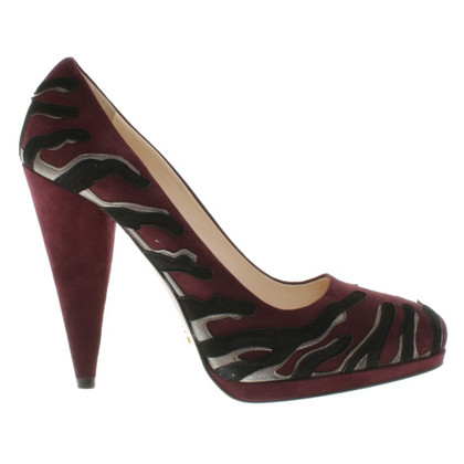 Prada pumps in Bordeaux