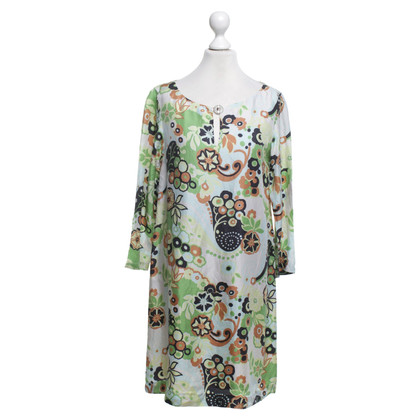Tara Jarmon Silk dress with floral print