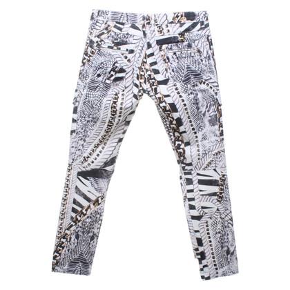 Balmain Jeans avec impression intégrale
