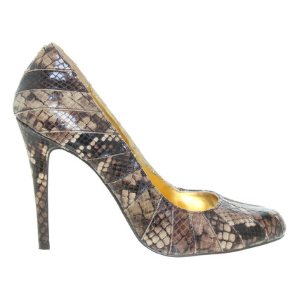 Ted Baker pumps in rettile finitura