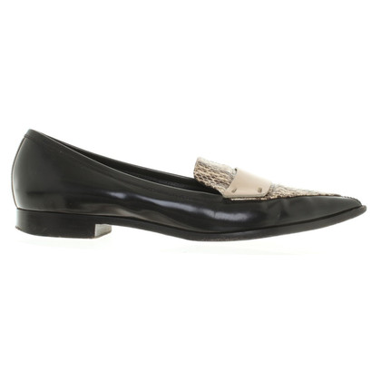 Nicholas Kirkwood Ballerinas in black