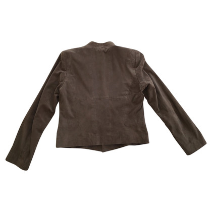 Barbara Schwarzer leather jacket