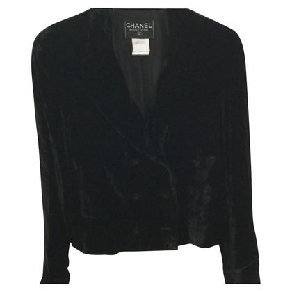 Chanel giacca di velluto