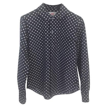 Comme des Garçons for H&M Blouse with polka dots