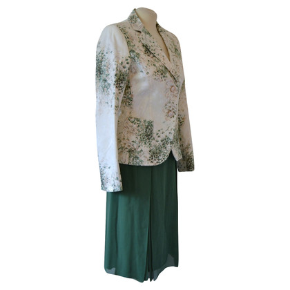 Max Mara Costume with floral pattern