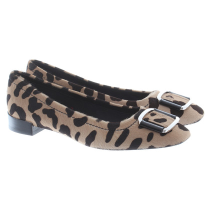 Roger Vivier Ballerinas in the Leopard look