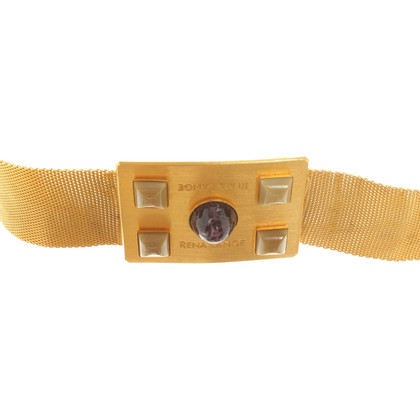 Rena Lange Gold colored belt