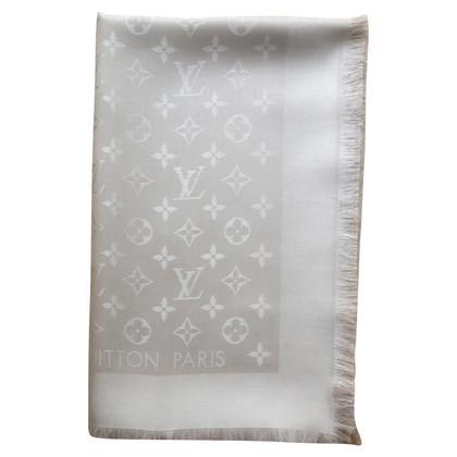 Louis Vuitton Monogram sjaal in beige