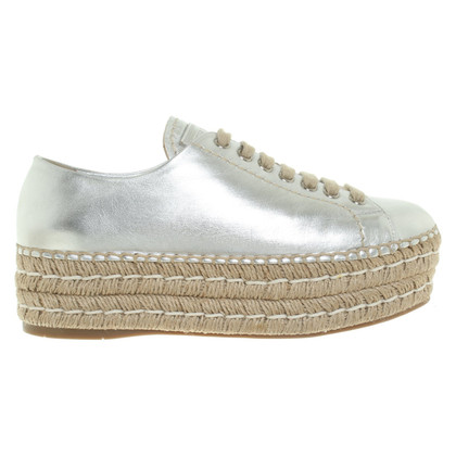 Prada Leather lace-up shoes