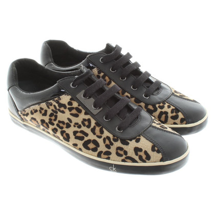Calvin Klein Sneakers with leopard print