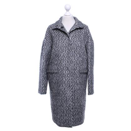 Les Copains Coat with pattern
