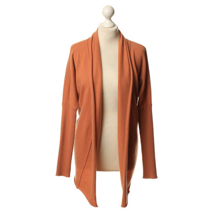 Allude Cardigan in Orange