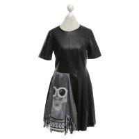Pinko Lederen kleding in zwart