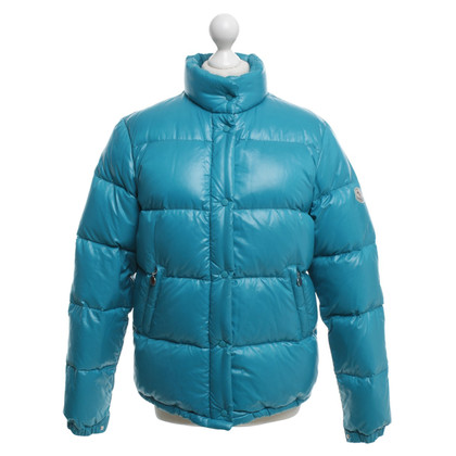 Moncler Jacket in turquoise