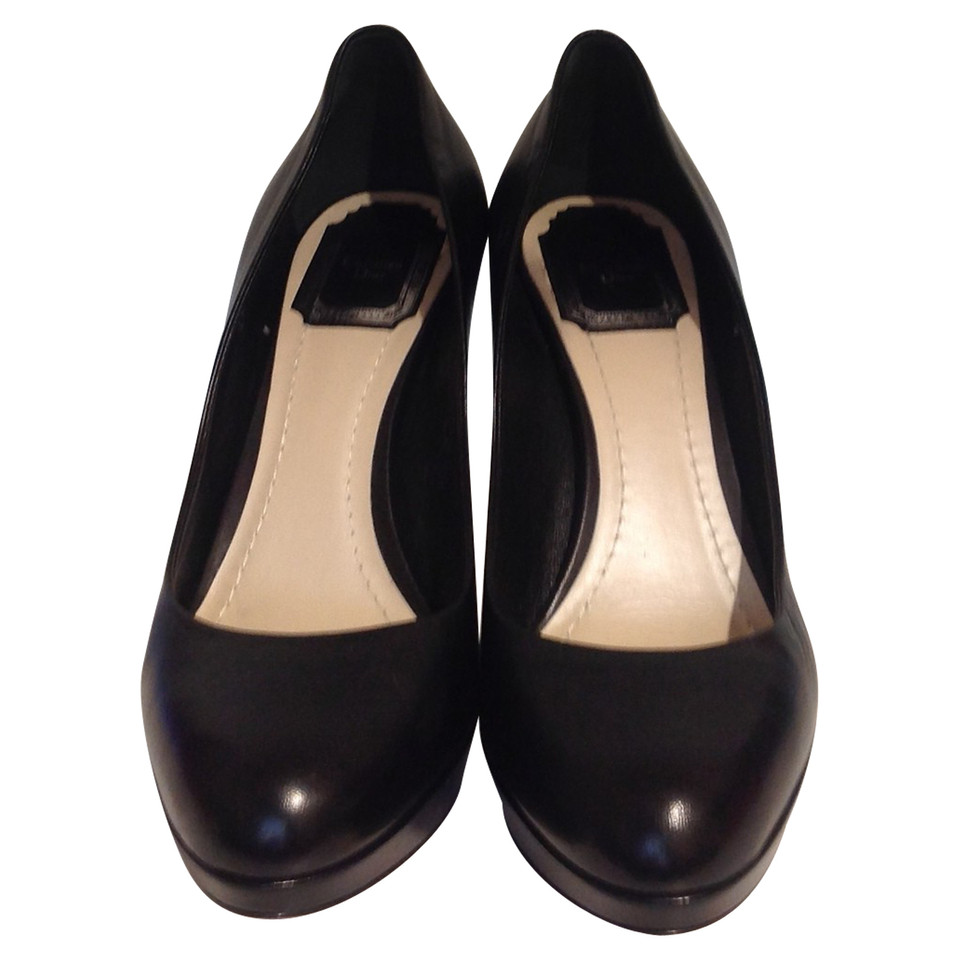 Christian Dior pumps with plateau