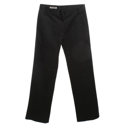 Jil Sander Broek in Midnight Blue