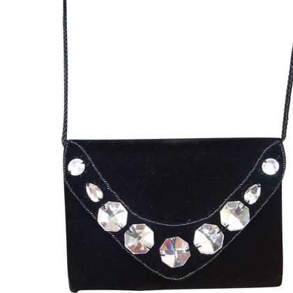 Miu Miu Shoulder bag with gemstone trim