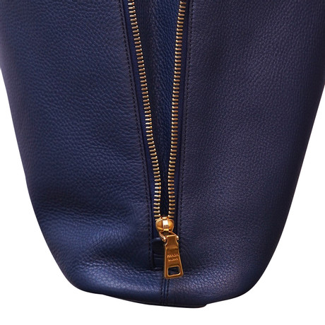 Prada Schultertasche in Blau Blau Geniue Händler Günstiger Preis Billig Ausverkauf Store LAiqlQW5