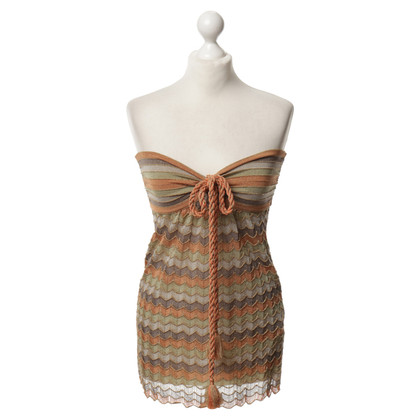 Missoni Bandeau-Top aus Strick