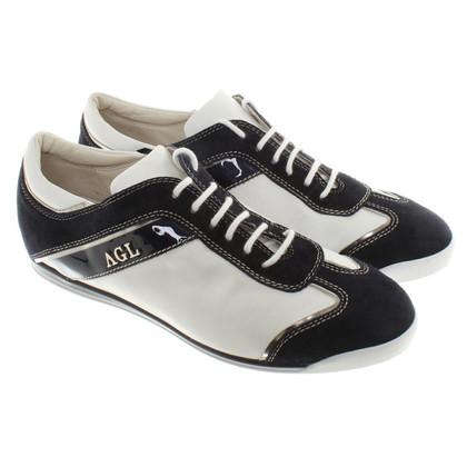 Andere Marke AGL - Sneaker in Blau/Weiß