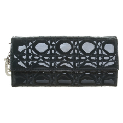 Christian Dior clutch met logo-applicatie