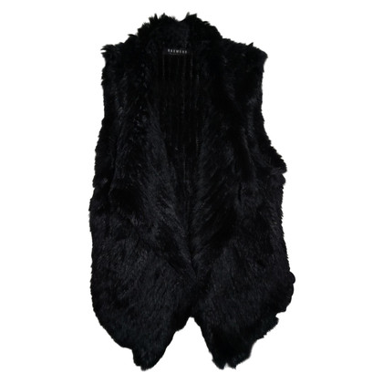Oakwood Black Fur Vest