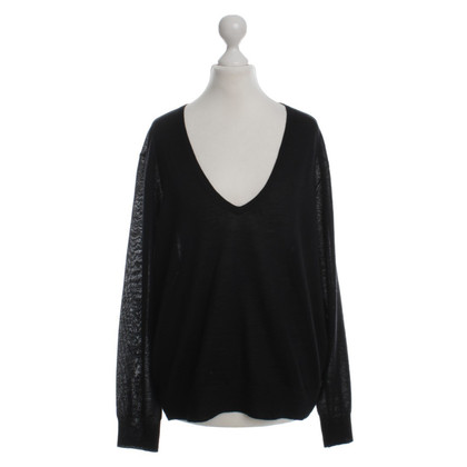 Dries van Noten Black knit pullover